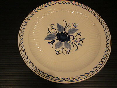 Baltic Adams Hand Painted Real English Ironstone Vintage Decorative Plate
