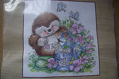 """Country Companions """"Home tweet home"""" cross stitch kit"""