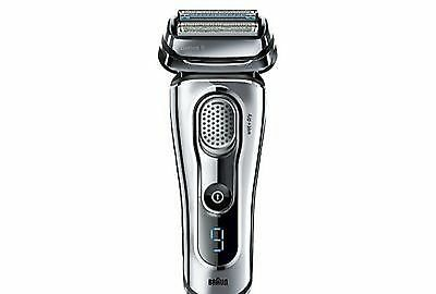Genuine New Braun 9095CC Series 9 Electric Shaver Wet & Dry With Charge Station
