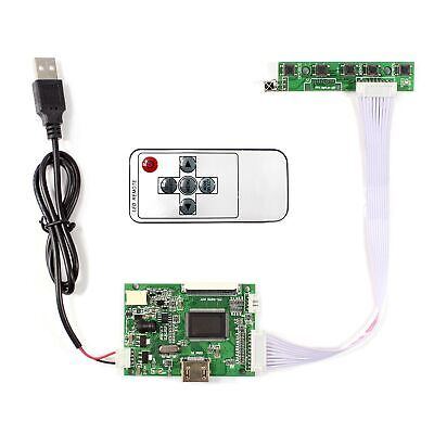 HDMI LCD controller board with remote work for 7inch to 9inch 800x480 LCD panel