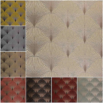 Fibre Naturelle New York Art Deco Chenille Curtain Upholstery Cushion Fabric