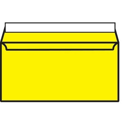 Blake DL Wallet Envelope Peel And Seal 120gsm x250 Canary Yellow 203