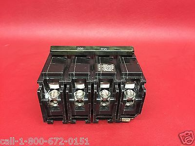 200 Amp Siemens EQ9685 MAIN 4 pole Breaker EQ-9685 ITE Gould Pushmatic $ave