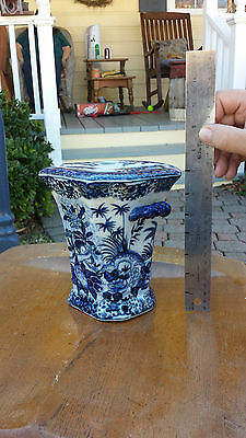 Porcelain Incense Burner Set, from the Peoples Republic of China era 1949-1966