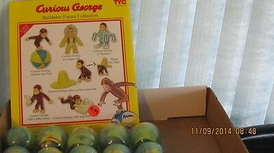 curious george buildable figure collection