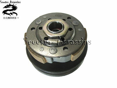 NEW COMPLETE CLUTCH + PULLEY for SYM DD50, DD 50, Fiddle 50 2 stroke
