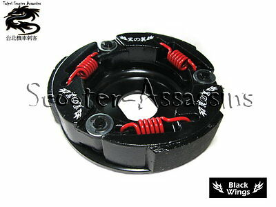 RACE CLUTCH by BLACK WINGS RACING for SYM Jet 100 (2 stroke) all models