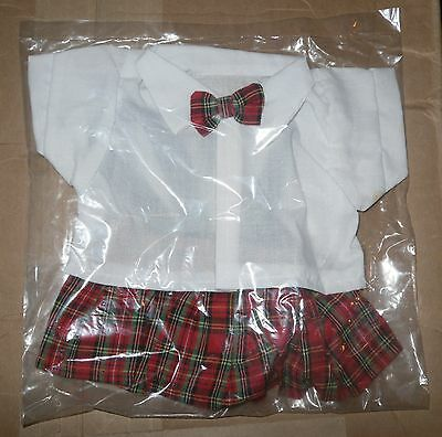 Wholesale Lot 24 Vintage Plaid Doll Outfits,NEW IN ORIGINAL SEALED BAGS - NEW-OS
