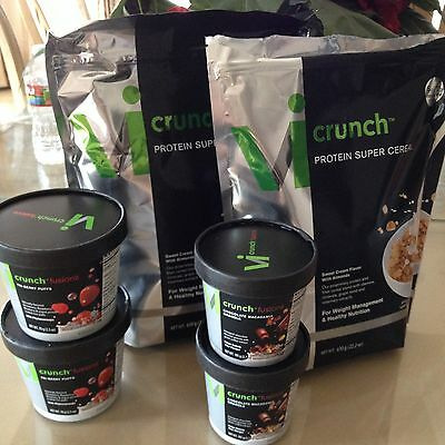ViSalus Body By Vi 90-Day Challenge - The New Crunch Kit with 4 Flavor Fusions!!