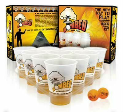 Bombed Beer Pong Game - 22 Cups, 3 Balls, 2 Racks     $29