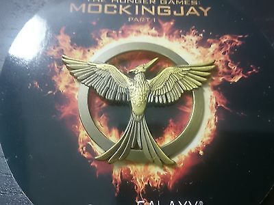 New & Rare Limited Edition Hunger Games Mocking Jay Pin Broach Badge SDCC 2014