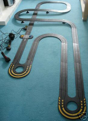 My First / Micro Scalextric - Huge Job Lot **VERY LARGE TRACK LAYOUT**