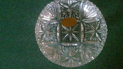 Genuine Lead Crystal Dish 24% PbO Made in Western Germany