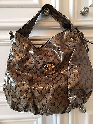 Gucci Bag. Patent Leather Free Shipping