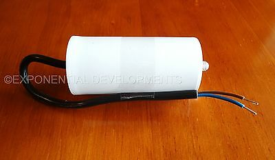 35uf CAPACITOR MOTOR RUN Universal, 450v 35mfd FLYING LEAD.....1st CLASS POST