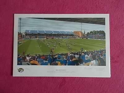 Leeds Rhinos Rugby League Limited Edition Print