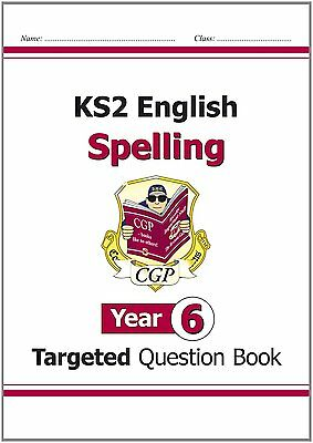 NEW ! KS2 English Targeted Question Book: Spelling - Year 6 (Paperback,2014)