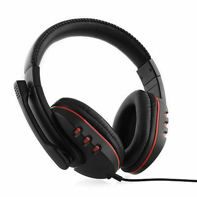 Gaming Headset Headphone with Microphone Mic for PC PS3 Game Controller PS 3 USB