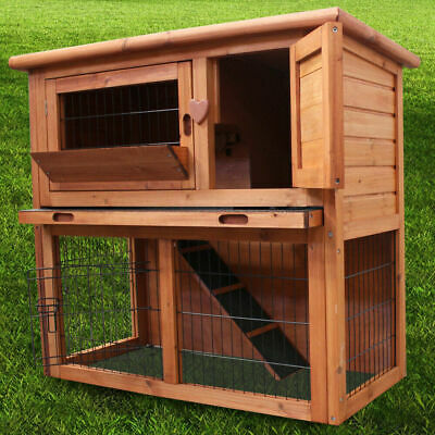 3Ft Rabbit Hutch / Ferret Cage Pets House / Deluxe Pet Hutches / Guinea Pig Run