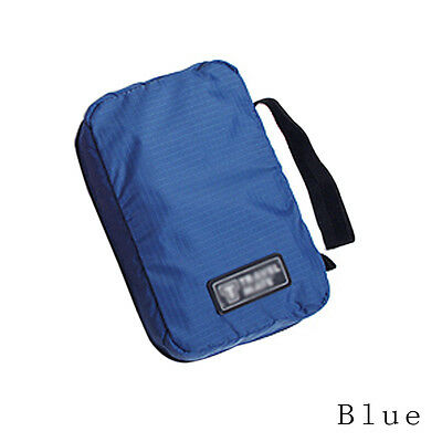 Travel Beauty Wash Cosmetic Makeup Toiletry Portable Hanging Storage Bag Blue PV