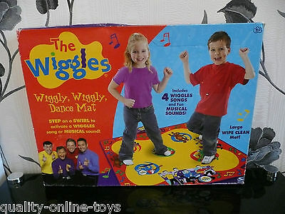 Boxed***the Wiggles Dance Mat Sing & Dance Along!***murray Anthony Jeff Sam Greg