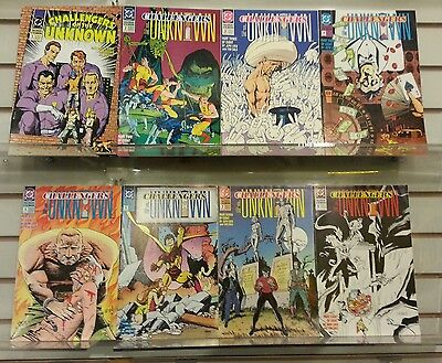 Challengers of the Unknown #1-8 Full Run -  DC 1991) Jeph Loeb / Tim Sale VF/NM