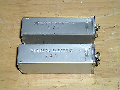 Western Electric capacitors