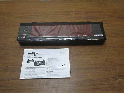 Red Lion Controls Oemow000 Red Led Counter Display New