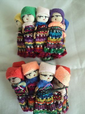 Guatemalan Worry Dolls - Small - 24 Dolls (2 Dozen) Lot