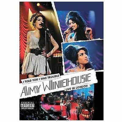 Amy Winehouse - I Told You I Was Trouble: Amy Winehouse Live From London (DVD, 2