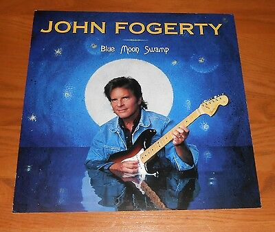 John Fogerty Blue Moon Swamp Poster 2-Sided Flat Square 1997 Promo 12x12