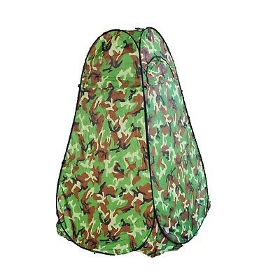 Gazelle Camo Portable Camping Toilet Pop Up Tent Privacy Shower Changing Room