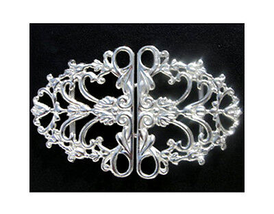A Brand New Hallmarked Solid Silver Nurses Belt Buckle