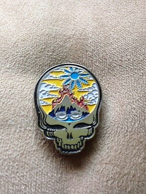 Grateful Dead Steal Your Scarlet Fire Hat Pin