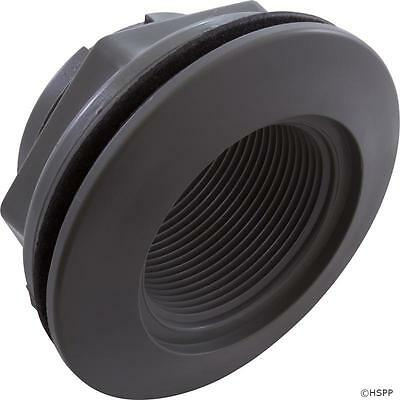 """Wall Fitting, WW, 2-3/8""""hs, 1-1/2""""fpt, 3-1/2""""fd, Gray 400-9177  806105082558"""