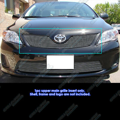 Fits 2011-2013 Toyota Corolla Billet Grille Grill Insert 2012