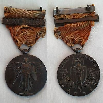WEST INDIES WW I Victory Medal