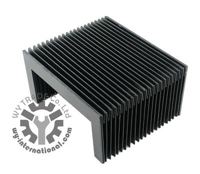 CNC Flexible Accordion Shape  Dust Cover 320*180*60mm custom-made size available
