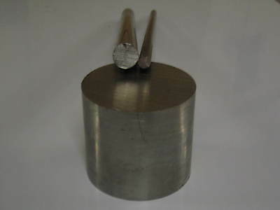 """Stainless Steel Round Bar 2.1/2"""" / 63mm dia x 250mm Long  Grade 304"""