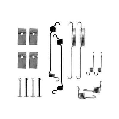 "BRAKE SHOE FITTING KIT FORD ESCORT MK5 VAN 9/"" DRUMS BSF0688A 1990/>1994"
