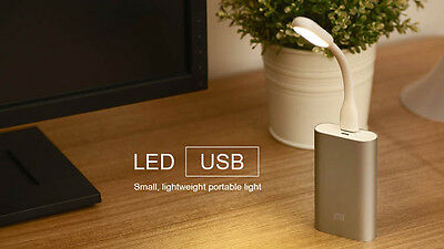 Lampada Originale Xiaomi® Led Luce Usb Pieghevole Per Pc Notebook Power Bank Etc