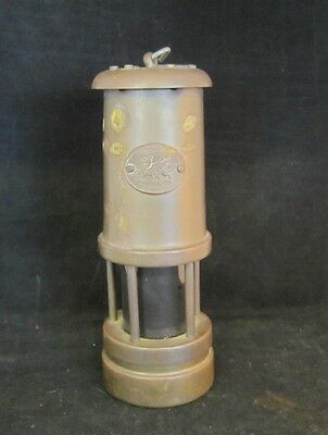 Antique Brass Lantern Mayer Mill Mining Trade Corp Wales Aman Hirwaum Estate