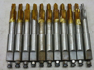 LOT of (12) RUTLAND COUNTERBORE CUTTERS, 1602493-T-98, CARBIDE TIPPED