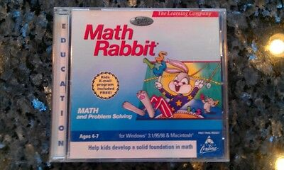 Math Rabbit Math and Problem Solving Ages 4-7