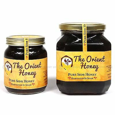 Pure Sidr Honey 100% Authentic Royal Raw Organic Honey Top Quality No Chemicals
