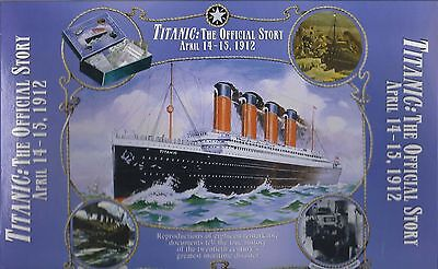 TITANIC: The Official Story 18 Documents/Reproductions Manifests Photos