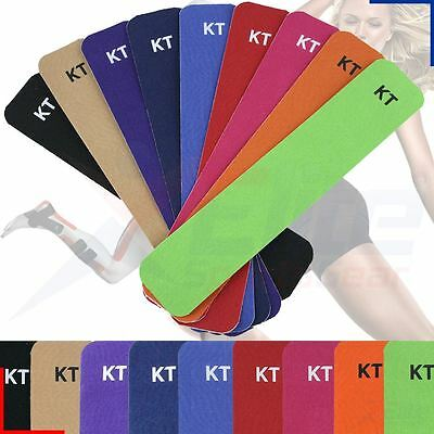 KT Tape Original Cotton Kinesiology Therapeutic Fitness Tape - Precut Strips