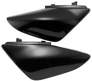 UFO Plastics Black Side Panels for Yamaha YZ450F 2003-2005 Replacement Plastic