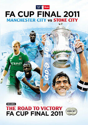 2011 FA Cup Final / Road to Victory Double pack  - DVD - NEW Region Free