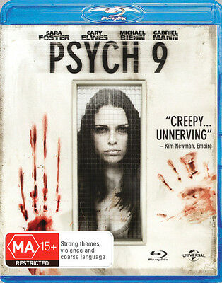 Psych:9  - BLU-RAY - NEW Region B
